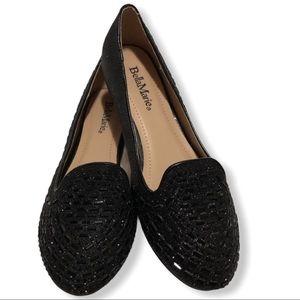 Bella Marie Black Mesh Shoes